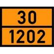 ADR Warntafel für Baustellentanks